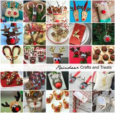 Reindeer Crafts and Treats - The Idea Room