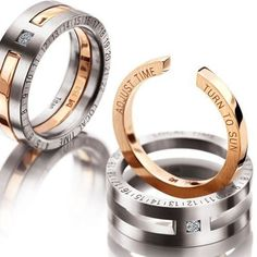 Unique Engagement and Wedding Rings for Same-Sex Couples