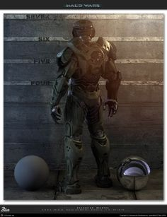 Halowars - Spartan by Baldasseroni Armor Concept, Weapon Concept Art, Game Character, Character Design, Space Soldier, Halo Cosplay, Halo Armor, Halo Spartan, Halo Series