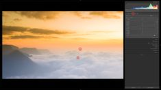 How to use Graduated filter in Lightroom for Landscape Photographs