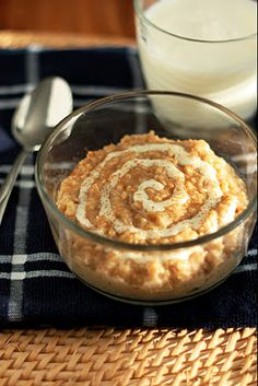 Cinnamon Roll Oatmeal - Cooking Classy