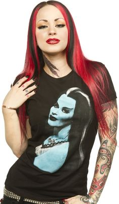 LILLY MUNSTER GIRLY TEE - Tops - Gals