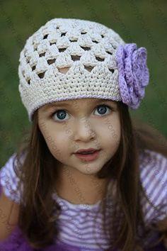 Crocheted Beanie Hat The Ember