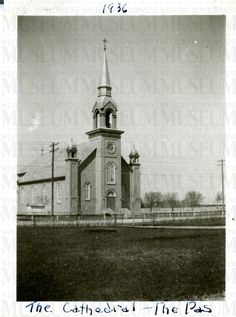 The Cathedral - The Pas   saskhistoryonline.ca The Pa, God Loves Me, The Province, Cathedrals, Gods Love, Cities, Lisa, Canada, History