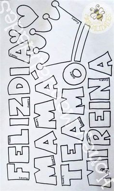 Brush Lettering, Hand Lettering, Diy Birthday, Birthday Gifts, Stencil Designs, Mandala Art, 3 D, Stencils, Diy And Crafts