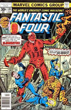 Fantastic Four #184, the Eliminator