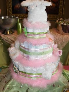 Diaper Cake Tutorial