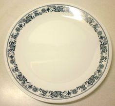 Corelle - Old Town Blue - Dinner Plates (Set of & Copper Charger Plates BULK Set of 24 - Wedding Party Supplies ...