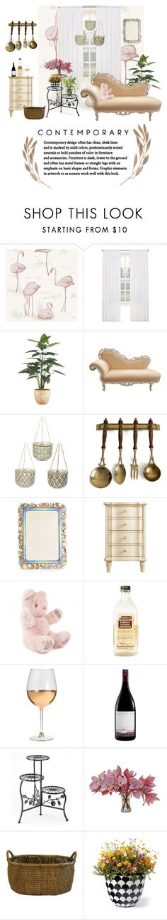 """Nắng vàng."" by honeyberrie ❤ liked on Polyvore featuring interior, interiors, interior design, home, home decor, interior decorating, Cole & Son, Jay Strongwater, Stanley and Marc Blackwell"