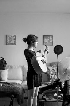 """""""As recorded sitting near the micro, on occasion yes I've left recording while walking around the house play. It's a way of capturing a sound environment for some songs I like."""". Anni B Sweet"""