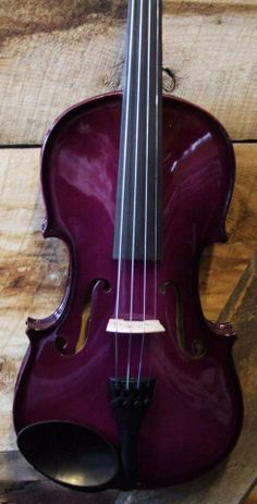 `Beautiful Purple Violin Who wouldn't want to play this?