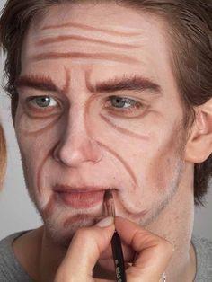 Old Age Makeup, Media Makeup, Little Shop Of Horrors, Old Faces, Theatrical Makeup, Theatre Makeup, Makeup Class, Costume Shop, Fantasy Makeup
