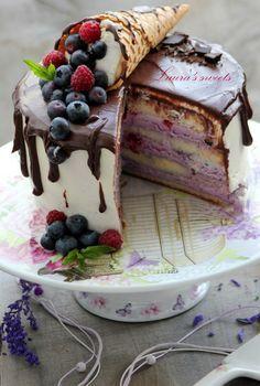 Chocolate Birthday Cake Decoration, Birthday Cake Decorating, Lemon Recipes, Tart Recipes, Cranberry Cake, Fresh Cake, Baking Tins, Cake Toppings, Sweet Cakes