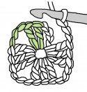 craft, granni squareinstruct, patterns, crochet, chart