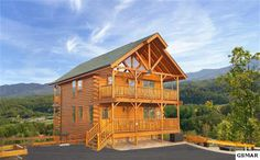 Price: $414,000    Upscale Luxury Log Home - enjoy BREATHTAKING VIEWS from every window & 3 decks! This Beautifully crafted home features the BEST of the BEST in all-wood craftsmanship, WALLS-OF-GLASS, ...