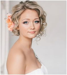 wedding hairstyles for short hair mother of the bride : Wedding ...
