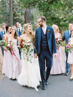 Photography: Ryan Ray Photography - ryanrayphoto.com Bridesmaids' Dresses: Watters - http://www.watters.com/Collection/WattersBrides/Features:WattersBridesSpring2014/ Wedding Dress: Inbal Dror - http://www.inbaldror.co.il/en   Read More on SMP: http://www.stylemepretty.com/2016/03/16/whimsical-summer-wedding-at-lake-tahoe-2/