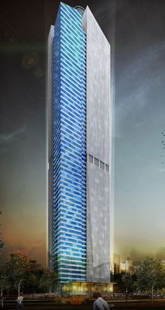 Cemindo Tower or Rasuna Tower, Jakarta, Indonesia by PT. Sekawan Designinc Arsitek :: 63 floors, height 300m