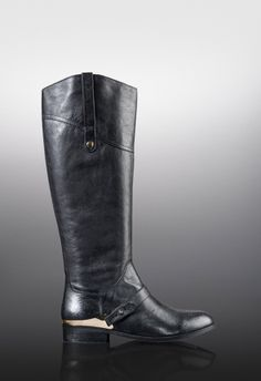 Few boots are as versatile as they are sophisticated, and this riding boot is having a major moment.