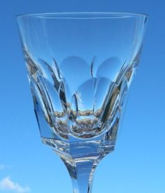 Vintage Set of 6 Atlantic Crystal Obidos Signed Water Goblets Glasses Stemware  #AtlantisCrystal