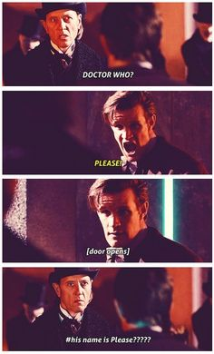 Kind of (meaning totally freaking out) excited that the Doctor's secret isn't just his Gallifreyan name that would be too obvious no it had to be John Freaking Hurt AND his true name ..... Whaaa YES!
