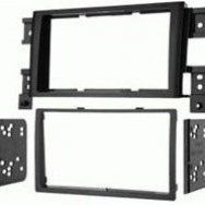 Fits Suzuki Grand Vitara 2006 2008 Designed For Double Din Installations Black Finish In 2020 Car Stereo Installation Car Stereo Electrical Wiring Diagram