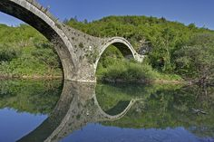 kalogeriko stone bridge Old Bridges, View Image, River, Stone, Rocks, Rivers, 1st Birthdays, Batu, Rock
