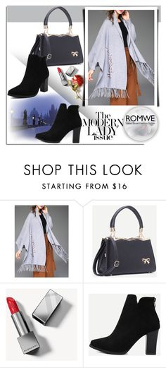 """""""ROMWE 20/3"""" by melissa995 ❤ liked on Polyvore featuring Burberry"""