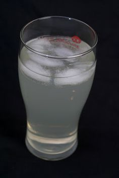 Back Porch Breeze     (1 shot blueberry vodka  1 shot peach schnapps  2 shots lemonade  3 shots sprite)