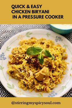 Chicken Biryani is a one-pot meal made of rice, chicken, and aromatic spices. It is rich in flavor, grand in tradition, and elaborate enough to take center stage at holidays and celebrations.