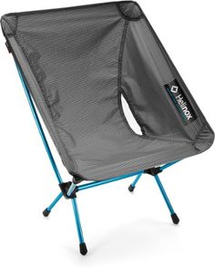 The Chair Zero is a light, comfortable, four-legged camp chair that packs down no bigger than most water bottles. Available at REI, 100% Satisfaction Guaranteed.