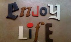 Enjoy life... by Kidimo ! Order the word of your choice, commandez le mot de votre choix ! www.kidimo.com