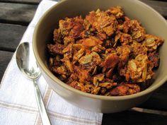 #paleomg pumpkin granola