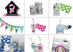 BrievenbusDroom is de specialist in producten van papier; geboortekaartjes, vogelhuisje en vlaggetjes... allemaal met liefde ontworpen.