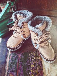 Winter moccassins