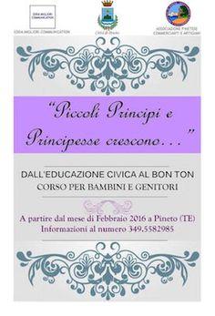 A Pineto Piccoli principi e principesse crescono