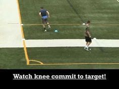 Wide Receiver Cone Drills 2011