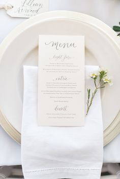 Elegant Wedding Place Settings And Napkin Dressing Inspiration #WedwithTed @tedbaker