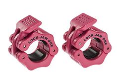 Lock-Jaw 1 Inch Barbell Collar Pair PINK - Bar Clamps for... https://www.amazon.com/dp/B00TP3C4VG/ref=cm_sw_r_pi_dp_x_0MZeybW7JJ6RK