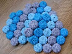 Crochet Coaster by Ina