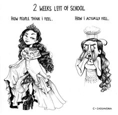 Hahahaha! I am exactly the opposite! I love school and wish I would never have to have summer.