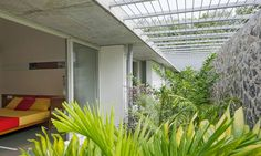 Passively cooled Walls and Vaults House in India brings lush tropical vegetation inside | Inhabitat - Green Design, Innovation, Architecture, Green Building