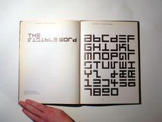 The Visible Word (Herbert Spencer, 1968)