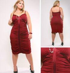 Moda Estilo Y Distinción Para Gorditas: Vestidos de Fiesta Tallas Especiales-