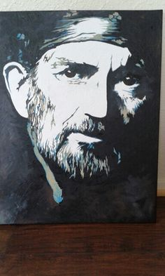 Willie  Nelson Original by Jodi Hess... Prints available