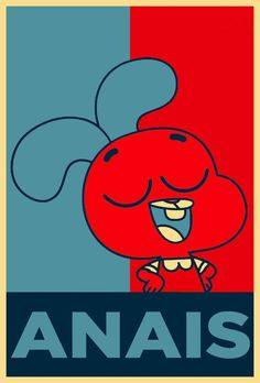 Anais is the dream sister to me. Cartoon Network Shows, Cartoon Shows, Amazing Gumball, Donia, Arte Pop, Cool Cartoons, Anime, Cartoon Wallpaper, Darwin