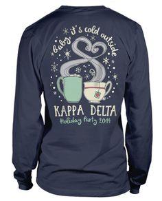 Love this Kappa Delta Holiday T-shirt!
