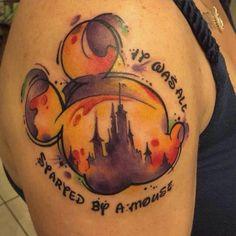 Love Disney | Top 50 des plus beaux tatouages disney