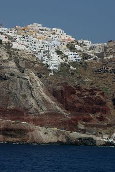 Located Near Monza Hotel, Santorini (Greek: Σαντορίνη, pronounced Vacation Places, Places To Travel, Places To See, Greenland Travel, Iceland Travel, Mozambique Beaches, Greece Today, Turkey Places, Greece Art