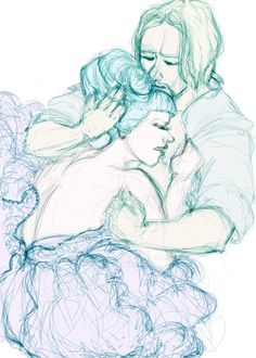 Headcanon: after the President's ball Effie seeks comfort from Haymitch, because even though she can't show it, she knows their efforts haven't convinced Snow.